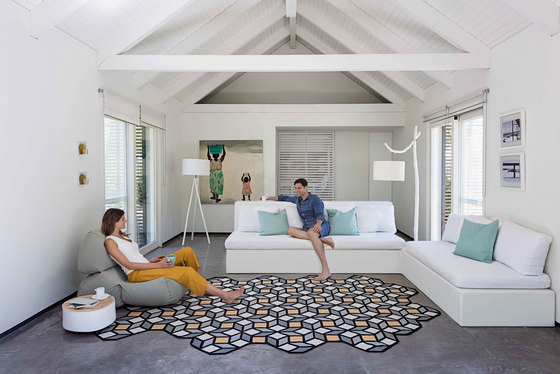 Parquet Hexagon by GAN