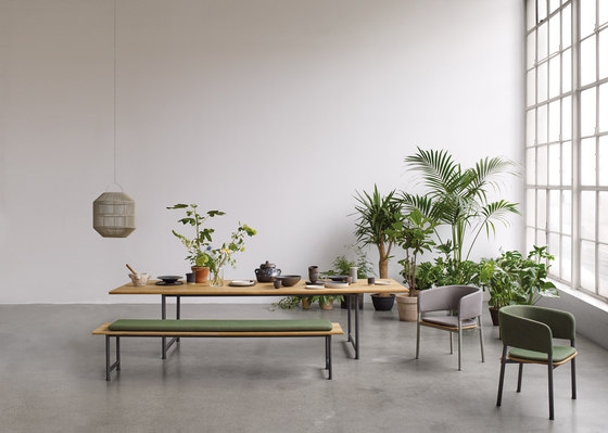Atmosphere Dining Bench by Gloster Furniture GmbH