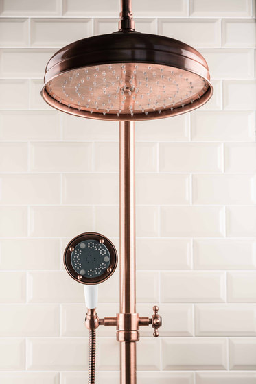 Princess Nouveau | Shower Column Floor Inlet by BAGNODESIGN