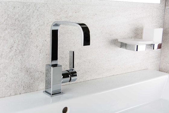 Smooth | Floor Mounted Bath/Shower Mixer by BAGNODESIGN