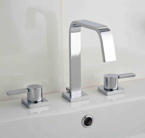 Smooth | Concealed Basin Mixer by BAGNODESIGN