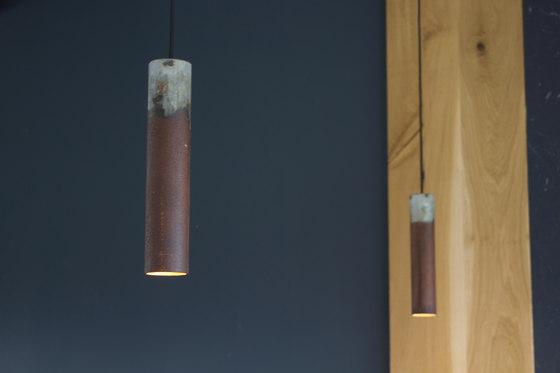 Roest vertical 45 pendant von Karven
