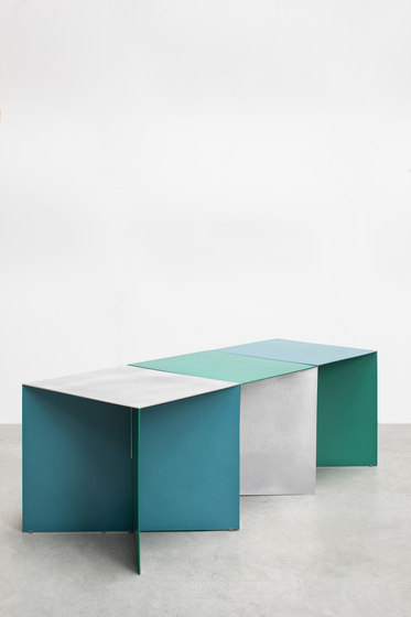 alu square | aluminum top by valerie_objects