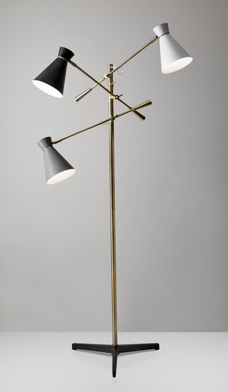 Lyle 3-Arm Floor Lamp de ADS360