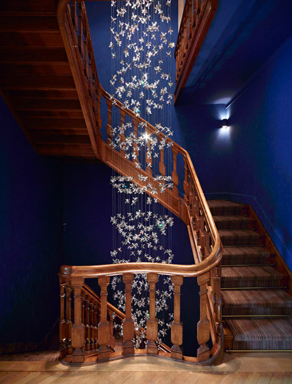 Flower Bespoke Staircase by Windfall