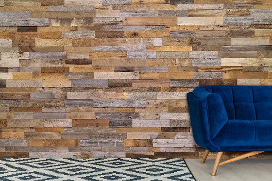 Interlock Reclaimed Barnwood Eco-Panels de Architectural Systems