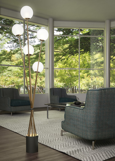 TEA FLOOR LAMP de ITALAMP