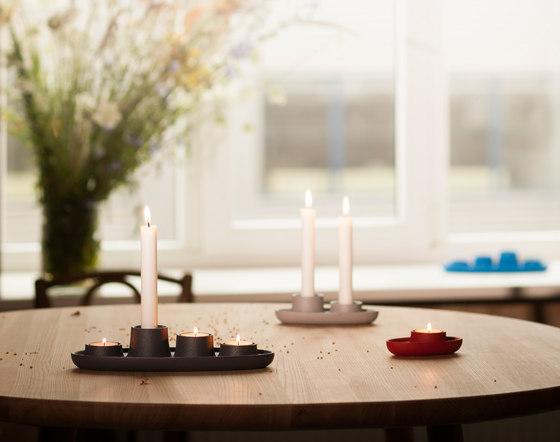Aye Aye! Candle holder, Coal black by EMKO
