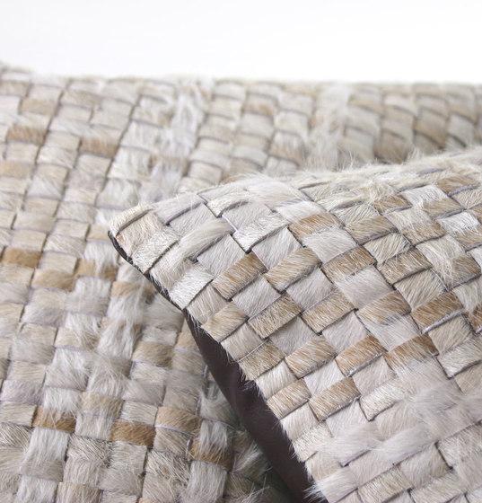 Taos Woven Hide Pillow de Pfeifer Studio