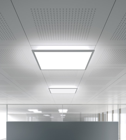 IDOO.fit Recessed and Surface-Mounted Luminaire by H. Waldmann