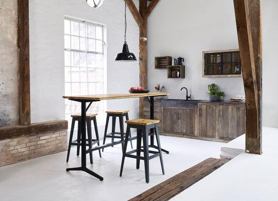 Te | bistro bar table, square di Jan Cray
