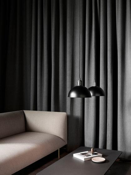 Hubert Pendant | Black Brass by MENU