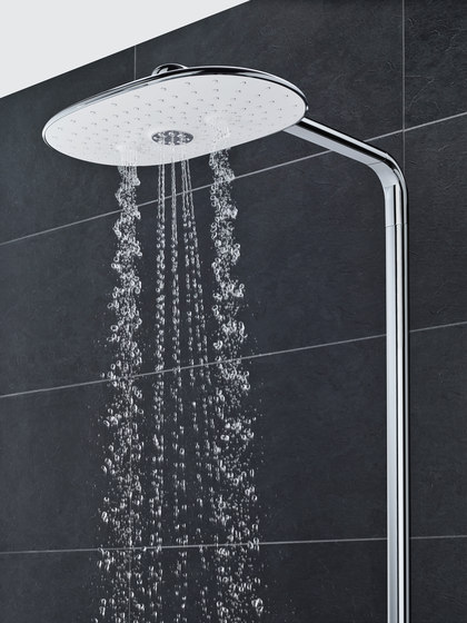 Grohtherm SmartControl Perfect shower set with Rainshower 310 SmartActive Cube by GROHE