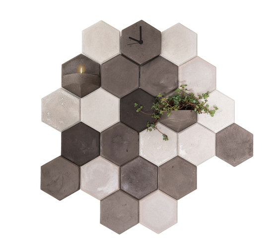MonoPlanter | Concrete Light Grey de Valence Design