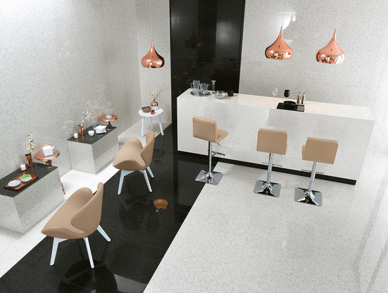 Roma Diamond Incroci Carrara Nero Reale de Fap Ceramiche