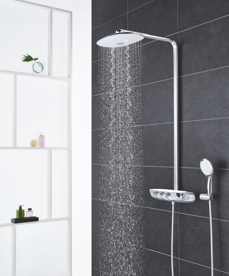 Rainshower System SmartControl 360 Duo Shower system with thermostat by GROHE