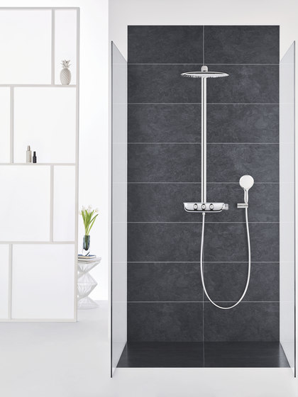 Rainshower System SmartControl 360 DUO Combi shower system with thermostat, exposed/concealed by GROHE