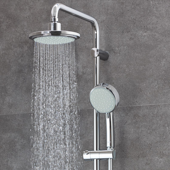 Tempesta Cosmopolitan System 160 Shower system with single lever mixer by GROHE
