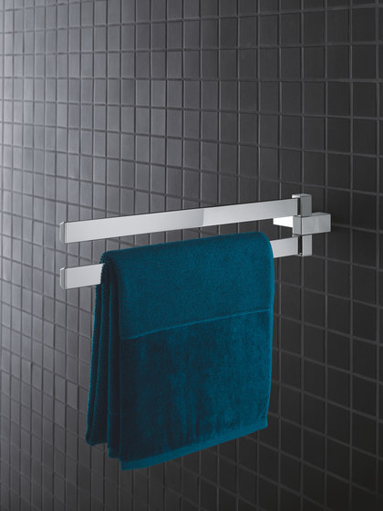 Selection Cube Grip bar/towel bar by GROHE