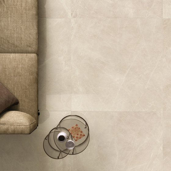 Purity Royal Beige Campitura Ramage di Ceramiche Supergres