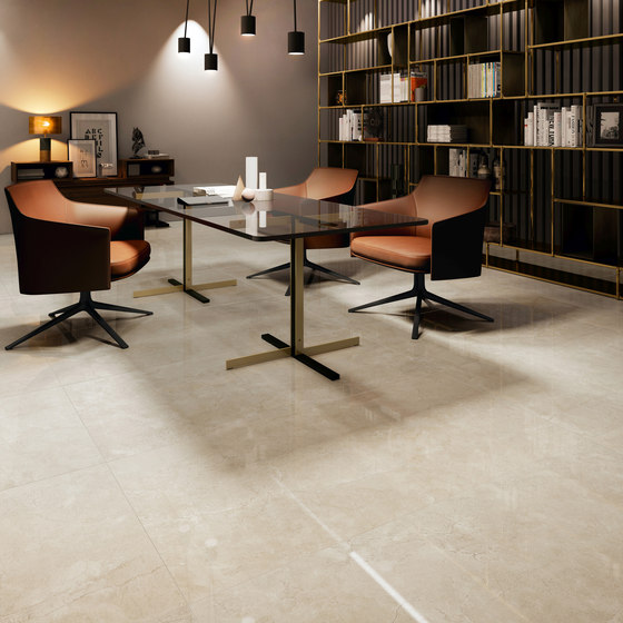 Purity Royal Beige Intreccio Decorato LUX by Ceramiche Supergres