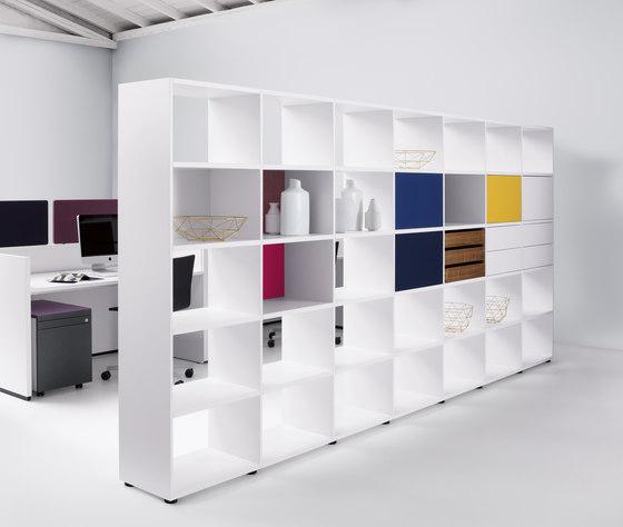 basic view Shelf system de werner works