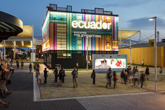 Cladding Exterior Pavilion by Kriskadecor