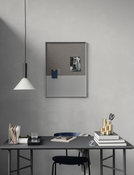 Socket Pendant Low - Black by ferm LIVING