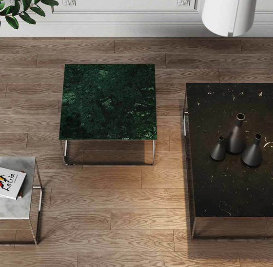 Gleam Marble Table de Pfeifer Studio