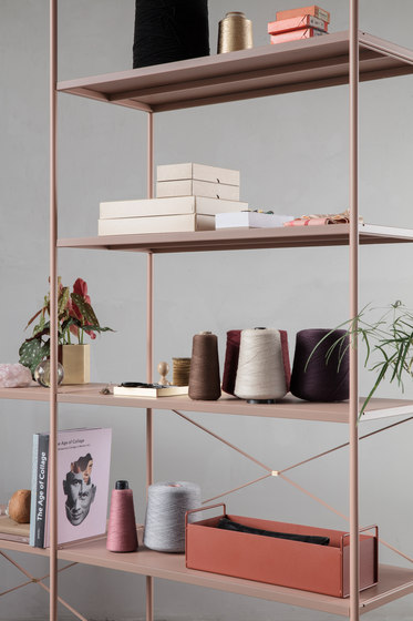 Punctual Shelving System -Dark Blue-1x5 by ferm LIVING