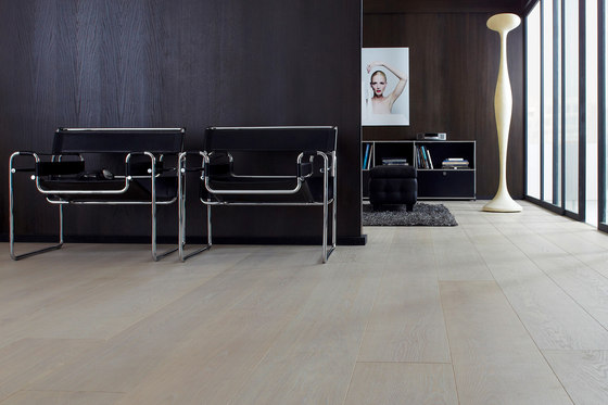 Silverline Edition Oak Silver 14 by Bauwerk Parkett