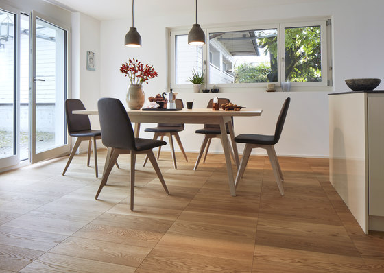 Formpark Mini Oak Avorio 14 by Bauwerk Parkett