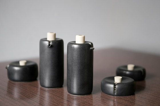 Bombette White Salt by HANDS ON DESIGN