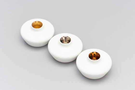 Bougies Copper de HANDS ON DESIGN
