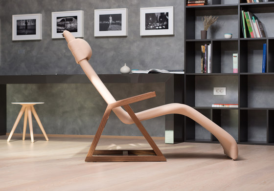 Easy Recliner Oak by Lina Design