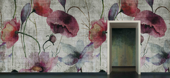 watercolor   poppies de N.O.W. Edizioni