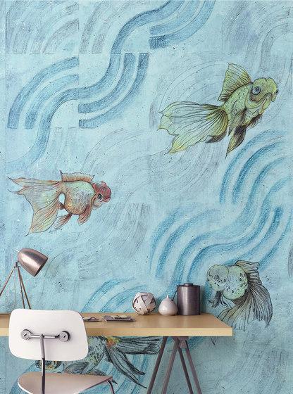 Onde di pesci by WallPepper