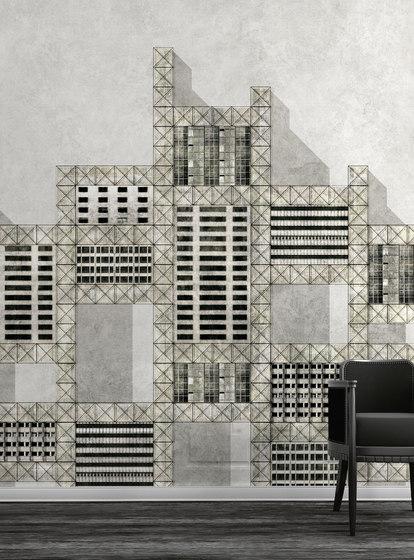 Metallic city by WallPepper