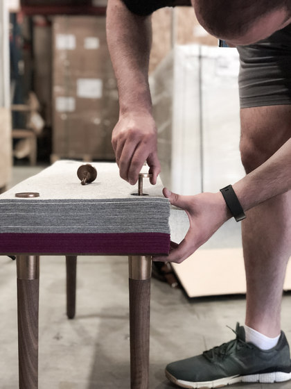 Felt Series Stool by STACKLAB