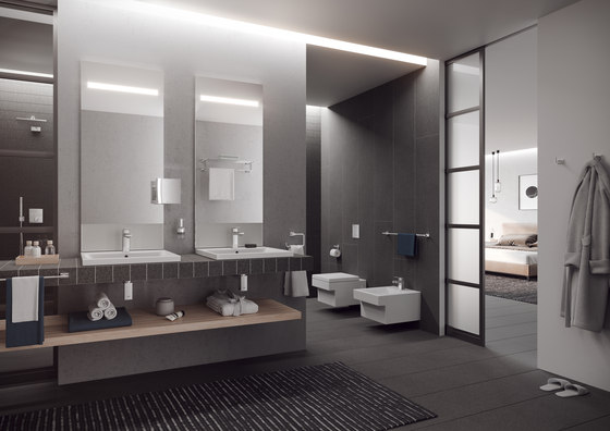 Cube Ceramic Wall hung WC by GROHE