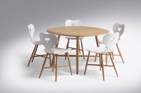 Trix |Table Trix Round Freeform by Schmidinger Möbelbau