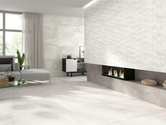 Basquet blanco di Grespania Ceramica