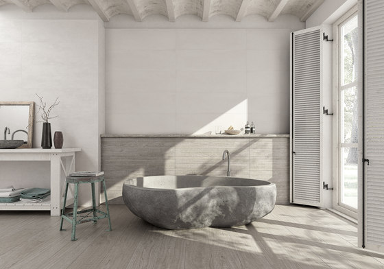 Wabi wood blanco 100 by Grespania Ceramica