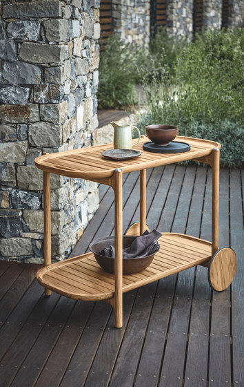 Bar Cart by Gloster Furniture GmbH