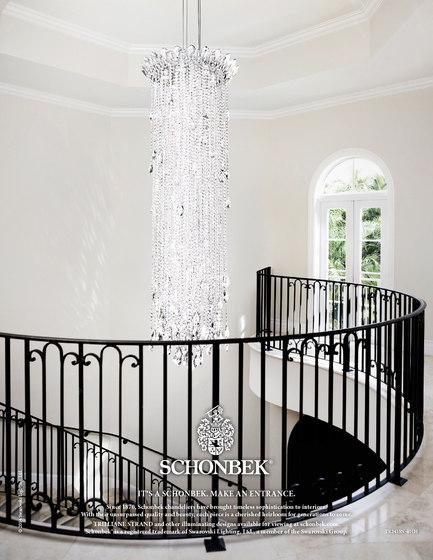 Trilliane Strands Ceiling by Schonbek