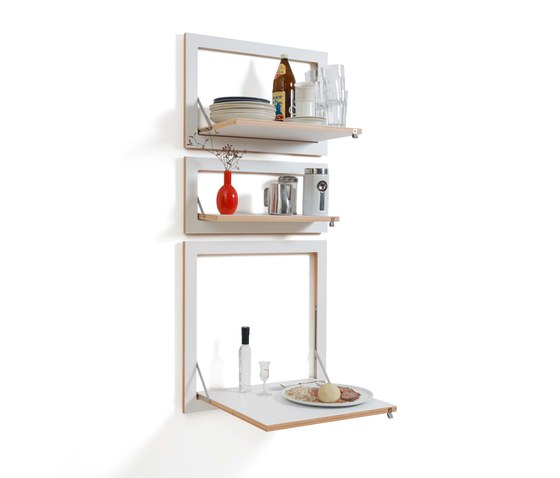 Fläpps Shelf 60x40-1 | Black by Ambivalenz