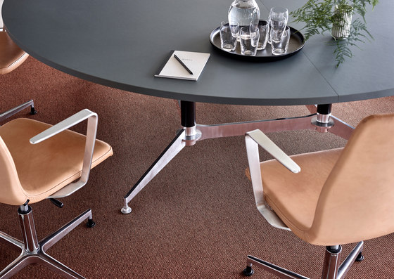 DO1100 Round Conference Table di Holmris B8