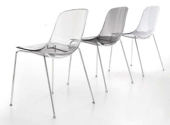Ovvio-1 Stacking Side Chair by Aceray