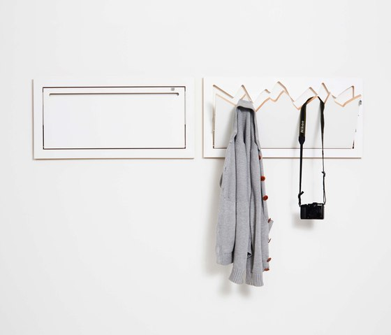 Fläpps Clothes Rail Hangrail   White by Ambivalenz