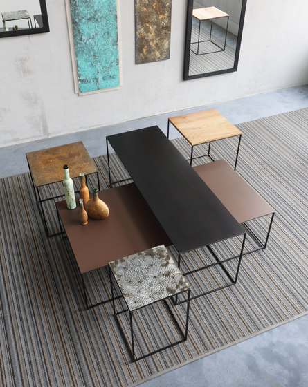 Slim Irony Low Tables di ZEUS